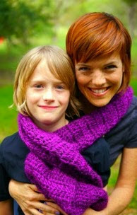 http://www.ravelry.com/patterns/library/highlighter-scarf-purple-stitch-project