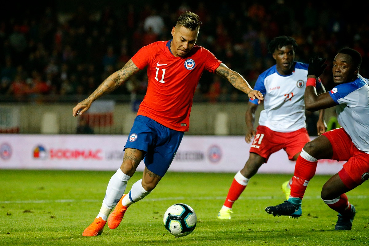 Chile y Haití en partido amistoso, 6 de junio de 2019