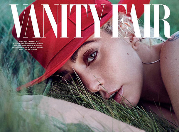 Lady Gaga Covers New Issue of Vanity Fair Italy