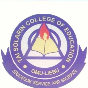 Tai Solarin College of Education (TASCE) Post UTME Form