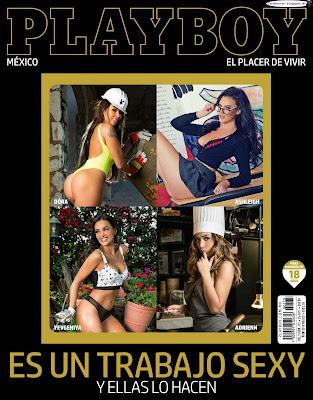 Trabajo Sexy - Playboy Mexico 2017 Mayo (51 Fotos HQ)