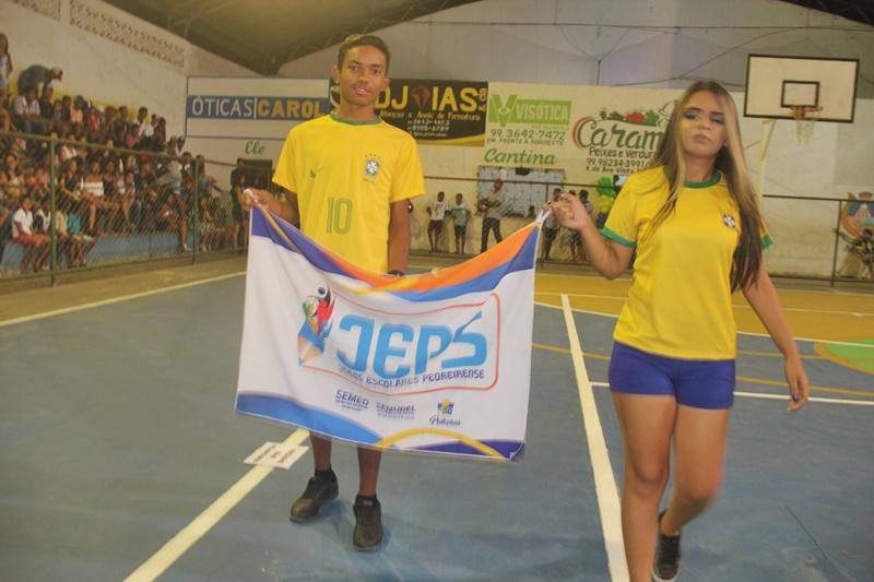 Pedreiras - Maranhão  JEPS 2018  ABERTURA TEM MÚSICA b625215af7af8