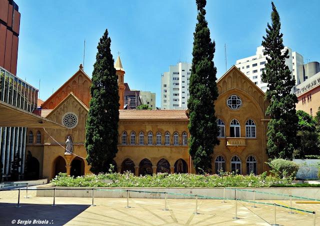 Fachada da Capela do Hospital Santa Catarina - Avenida Paulista