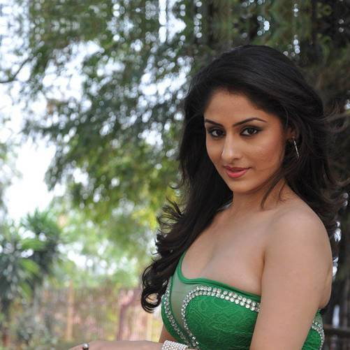 Indian Television Actress Ankita Sharma Showing Her Sexy