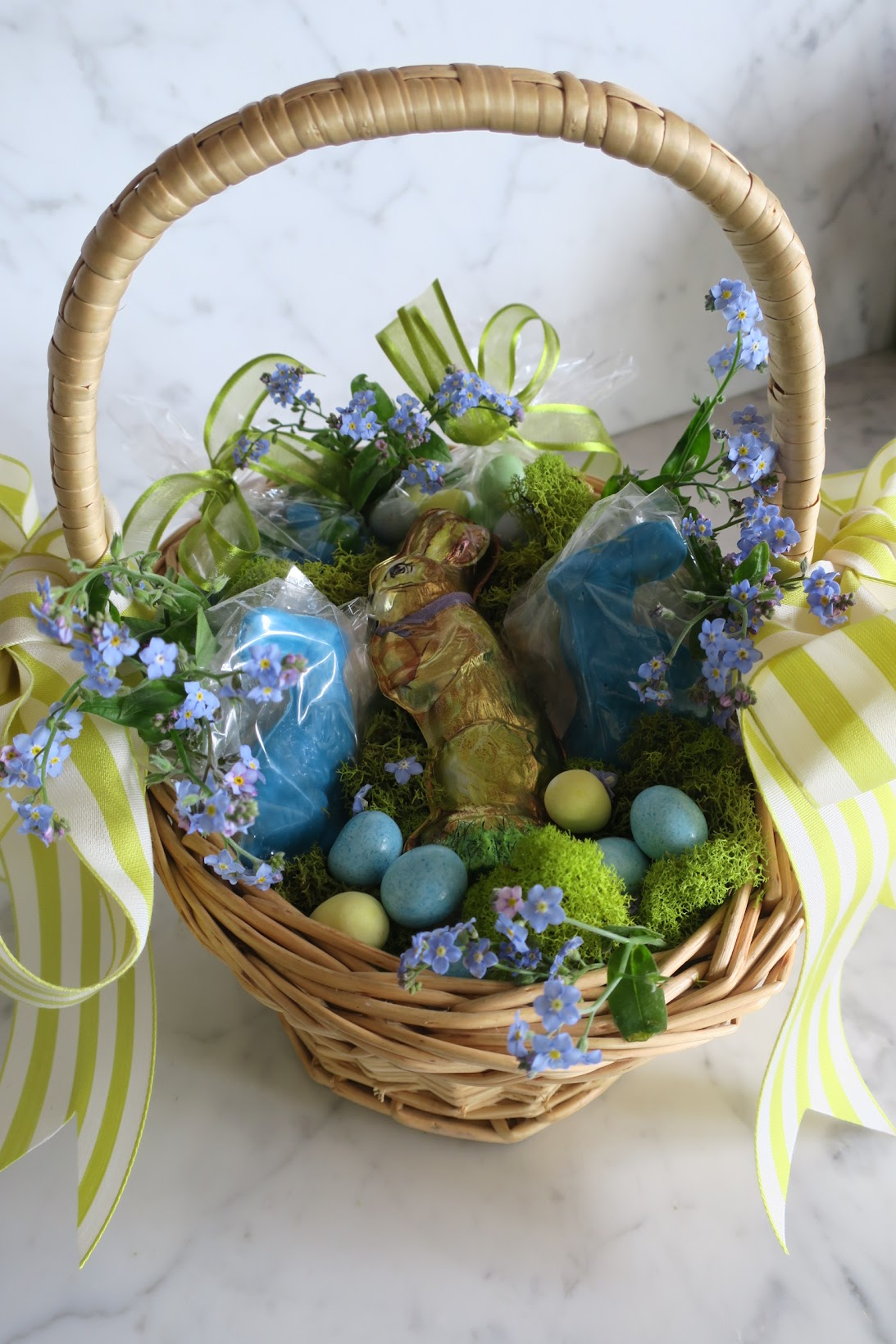 Chronica Domus: A Basket For Easter