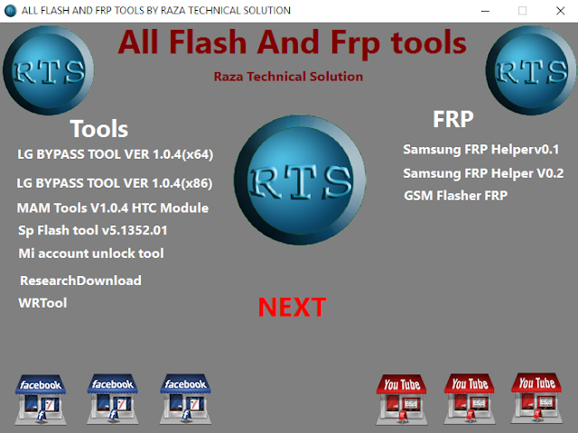 ALL FLASH AND FRP TOOLS BY RAZA TECHNICAL SOLUTION
