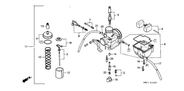 NSR Salatiga: NSR 150 R Parts Catalogue
