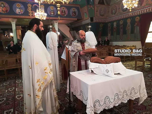 Στο Μάνεση Ναυπλίου γιόρτασαν για πρώτη φορά τον Άγιο Νικόλαο τον Καραμάνο