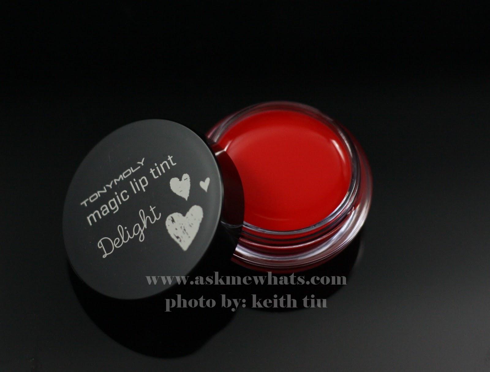 Tony Moly Delight Magic Lip Tint Review Liptint Askmewhats Top Beauty Blogger Philippines Skincare Makeup Tonymoly 7g