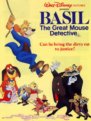 The Great Mouse Detective Vincent Price Disney Movie animatedfilmreviews.filminspector.com
