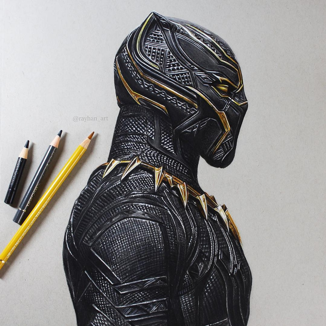 05-Black-Panther-Rayhan-Miah-Movie-Characters-Drawings-and-More-www-designstack-co