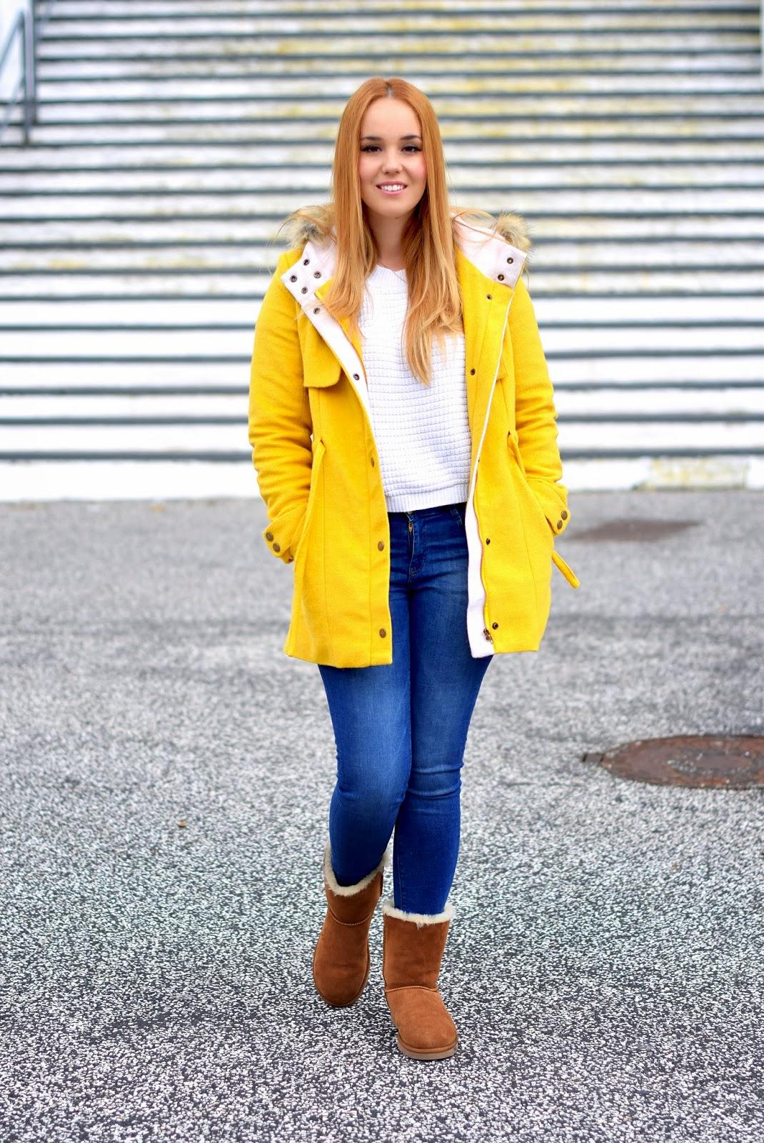 nery hdez, blackfive, ugg , look de dia, blonde, zara curve jeans