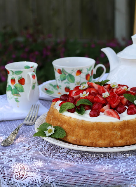 Tea in the Garden: The Charm of Home