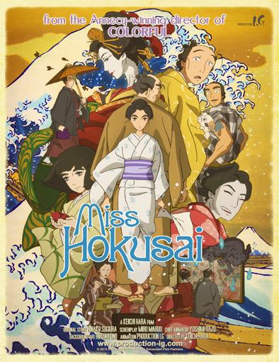 Ver Miss Hokusai (2015) Online
