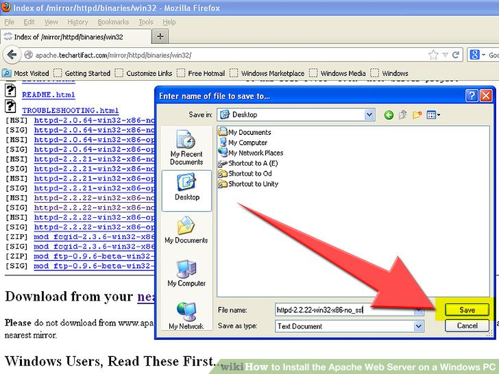 download apache web server for windows