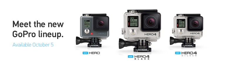 New GoPro HERO04 Cameras are here
