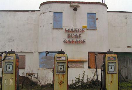 Lady Jardin Vintage Views Of The South Coast Art Deco Garage