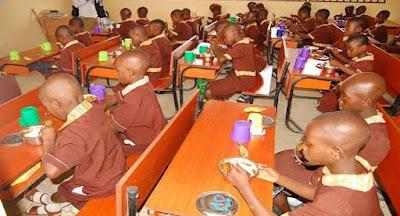 FG: We've served 25m meals under school feeding programme