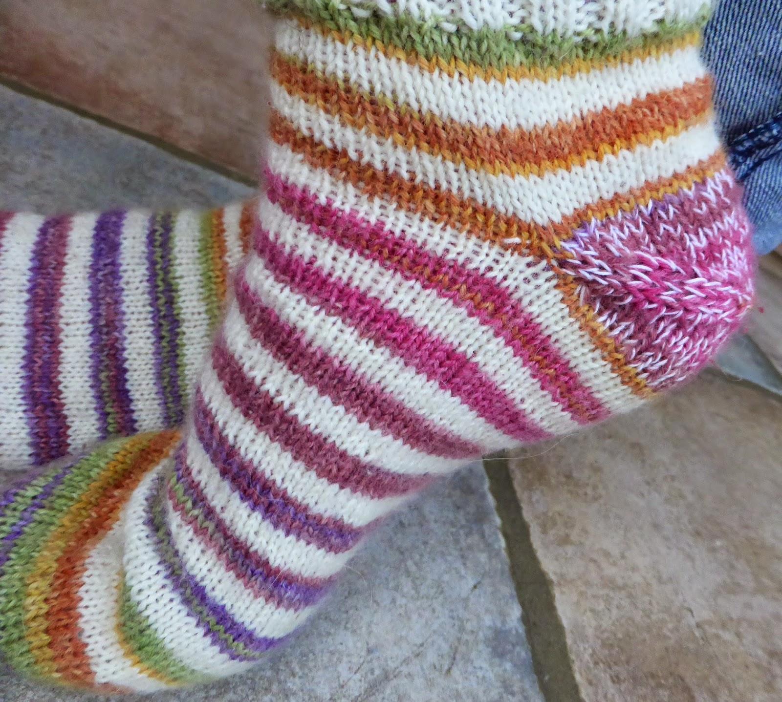 Simplyfil chaussettes faciles en commen ant par la pointe easy toe up socks - Les differents types de laine ...
