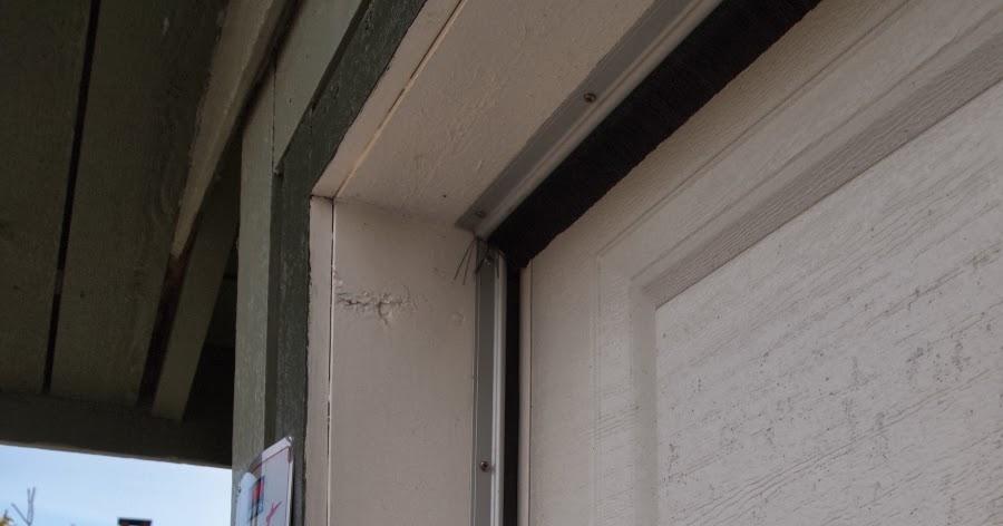 The wandering axeman Sealing Gaps in Garage Doors for Winter