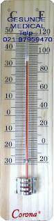 Thermometer ruangan