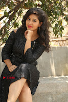 Telugu Actress Pavani Latest Pos in Black Short Dress at Smile Pictures Production No 1 Movie Opening  0066.JPG