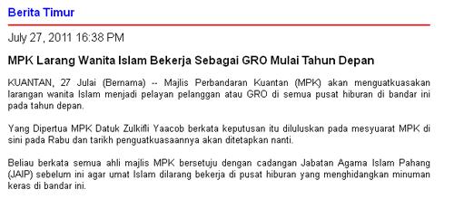 Lagi laporan bikin DAP naik angin!