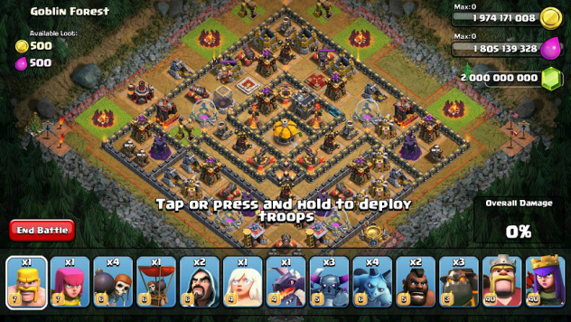 Download APK Mod Clash Of Clans Terbaru Juni 2015