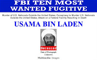 bin Laden wanted poster (deceased)