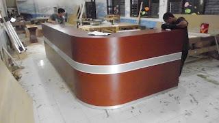 Desain Meja Customer Service Terbaru 2016 -Semarang Furniture