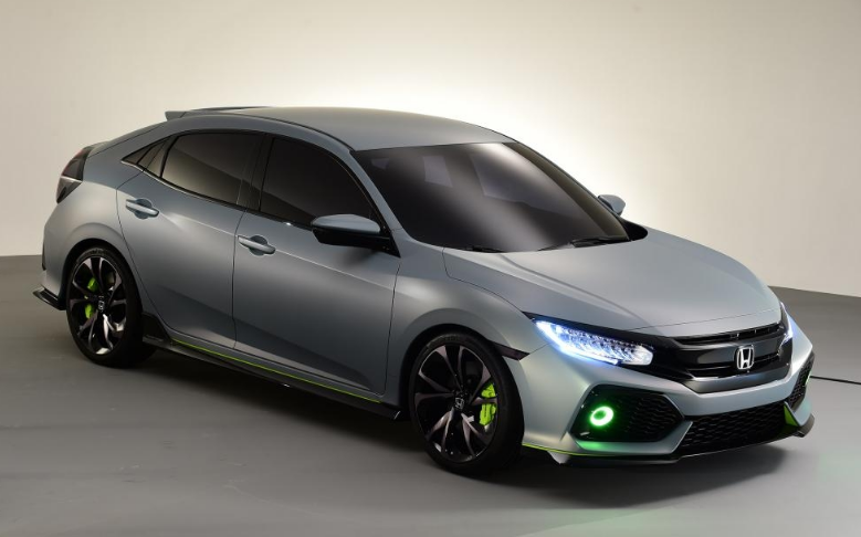 2017 honda civic hatchback review price and specs sports car stock photos and pictures. Black Bedroom Furniture Sets. Home Design Ideas