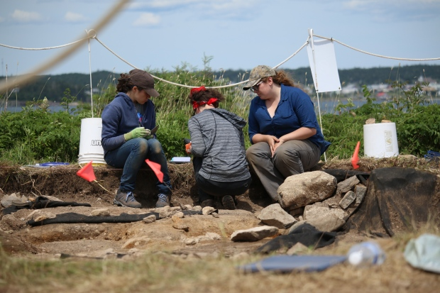 Centuries old graves being dug up near Louisbourg before they're lost