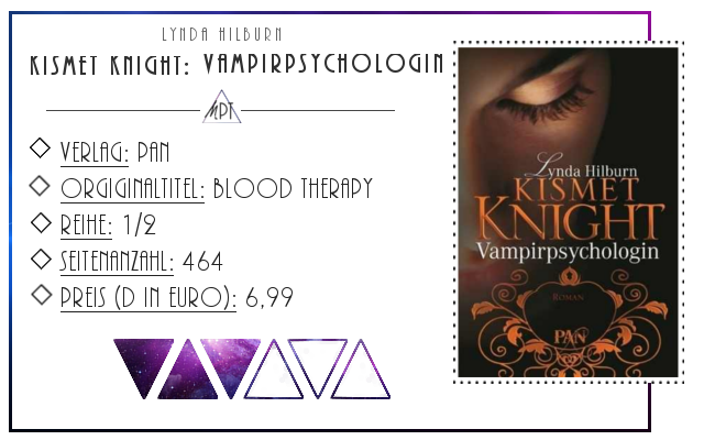 [Rezension] Kismet Knight: Vampirpsychologin - Lynda Hilburn