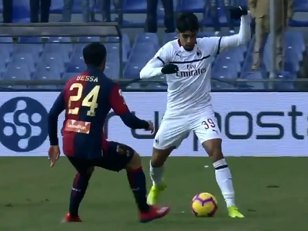 Fans go mad for AC Milan signing Lucas Paqueta after incredible 'rainbow flick' on his Serie A debut