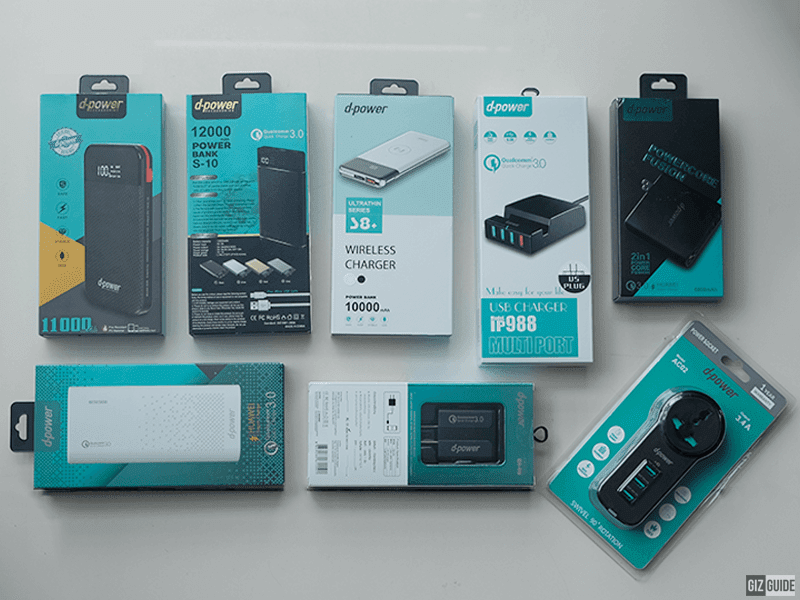 Thailand's d-power affordable mobile accessories arrives in the Philippines!