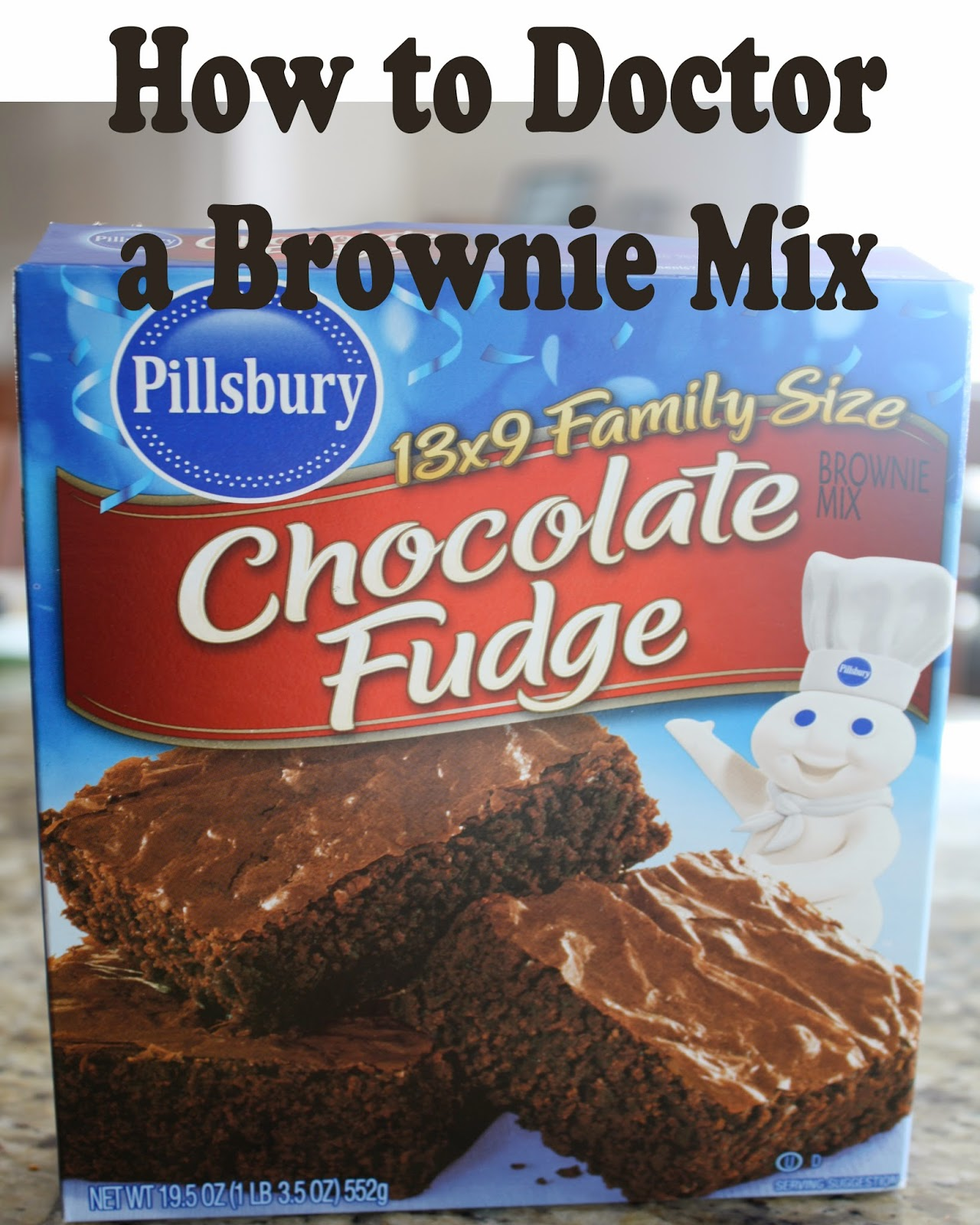 Cake Mix Doctor Brownie Recipe
