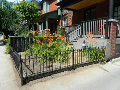 Leslieville Toronto Front Garden Summer Cleanup After by Paul Jung Gardening Services--a Toronto Gardening Company