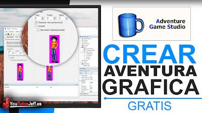 Descargar Adventure Game Studio Gratis - Crear Aventura Gráfica