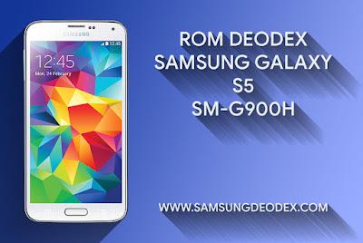 ROM DEODEX SAMSUNG G900H