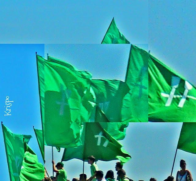Bandera de la trainera de hondarribia