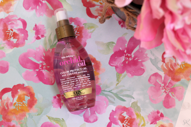 a picture of OGX Orchid hair oil