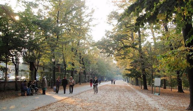 Passeio pelo Parco Ducale em Parma