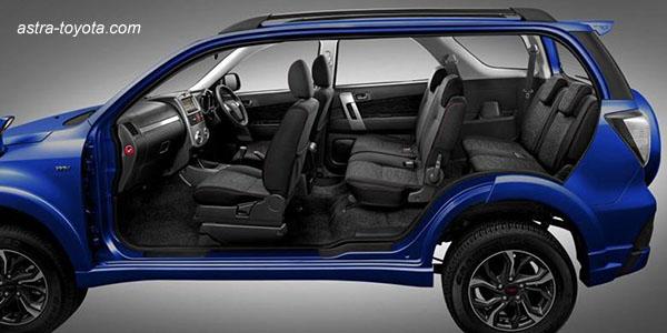Kursi Penumpang Toyota New Rush Ultimo 2016