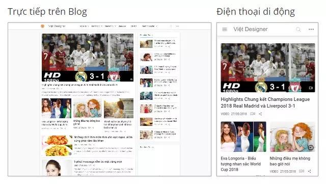 Template Blogspot Blog Cá Nhân, Gọn Gàng, Tải Nhanh, Chuẩn SEO