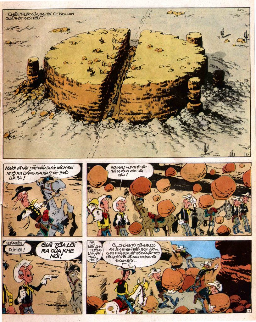 Lucky Luke tap 12 - khe vuc apache trang 3