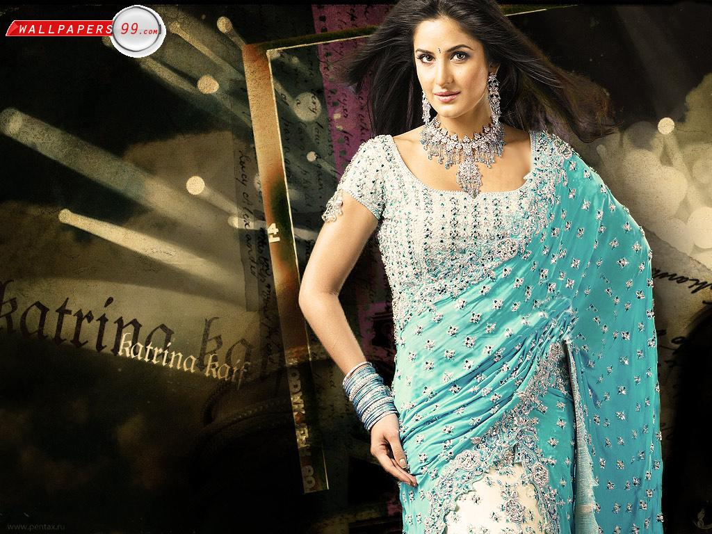 Download Hd Wallpapers Of Katrina Kaif In Saree  Download -5016