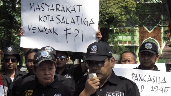 Tuntutan 5 Ormas Gabungan Salatiga: Tolak kehadiran Ormas FPI & Menuntut Pembubaran FPI di Indonesia