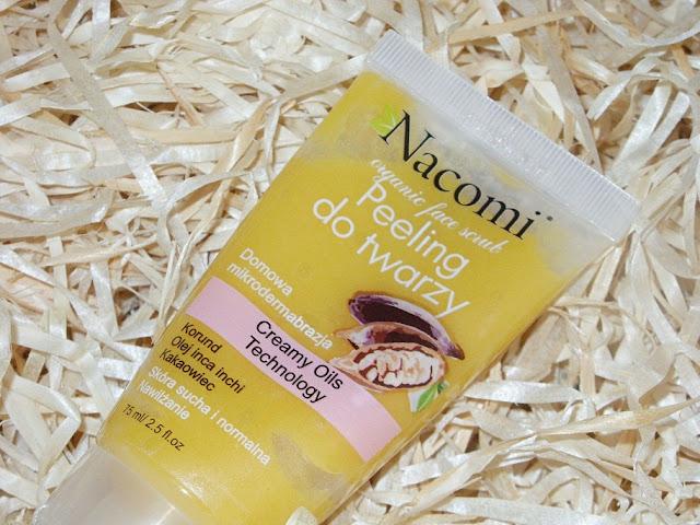 Recenzja: Nawilżający peeling do suchej i normalnej skóry twarzy, Nacomi