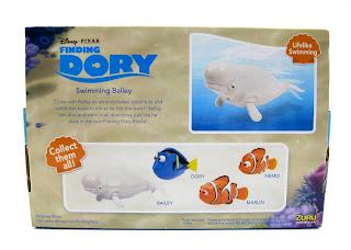 zuru finding dory robo fish swimming bailey toy