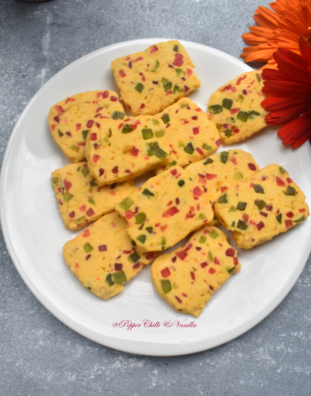 how to make tutti frutti cookies